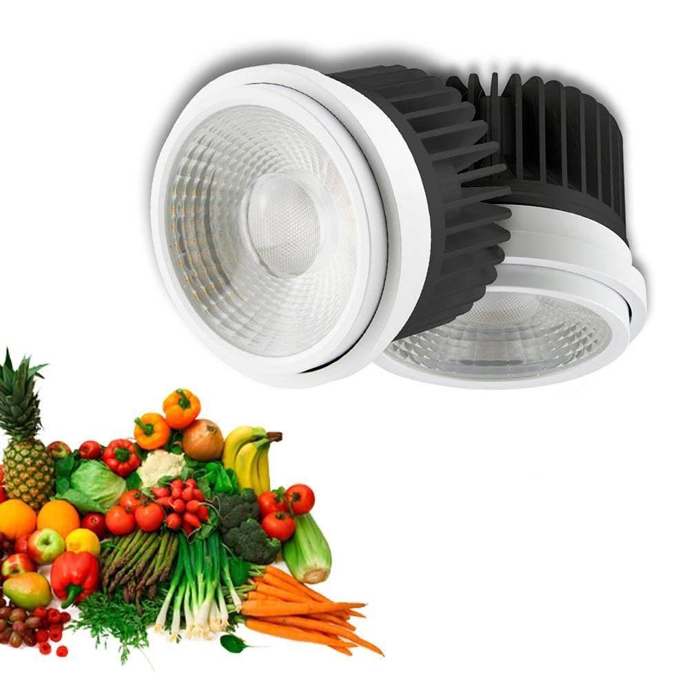 LED-Leuchtmittel für Obst & Gemüse 2847lm fokussierbar 35°-50° für Einbaurahmen SHOP