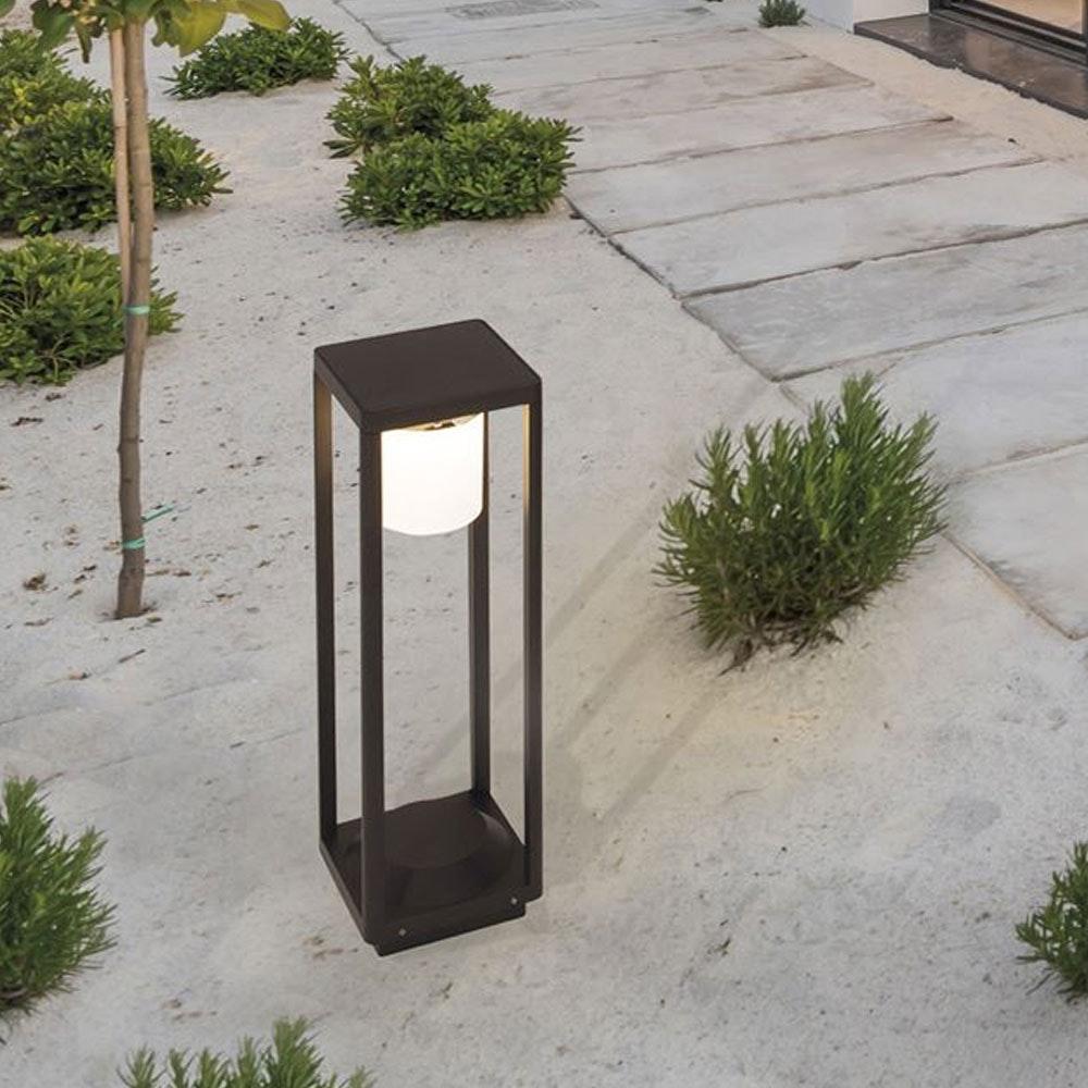 Nova Luce Loveto Poller Solarleuchte mit Bewegungsmelder thumbnail 3