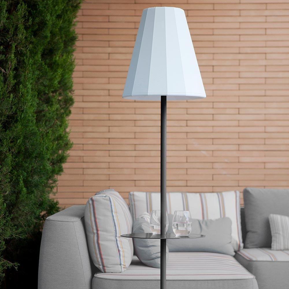 Licht-Trend LED Solar-Stehleuchte Helga mit Fernbedienung  6