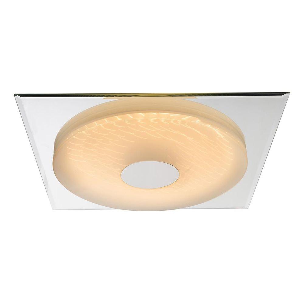 Treviso I Deckenleuchte LED quadratisch, 3D-Effektfolie, 3000K-4500K-6000K, dimmbar 2000lm 7