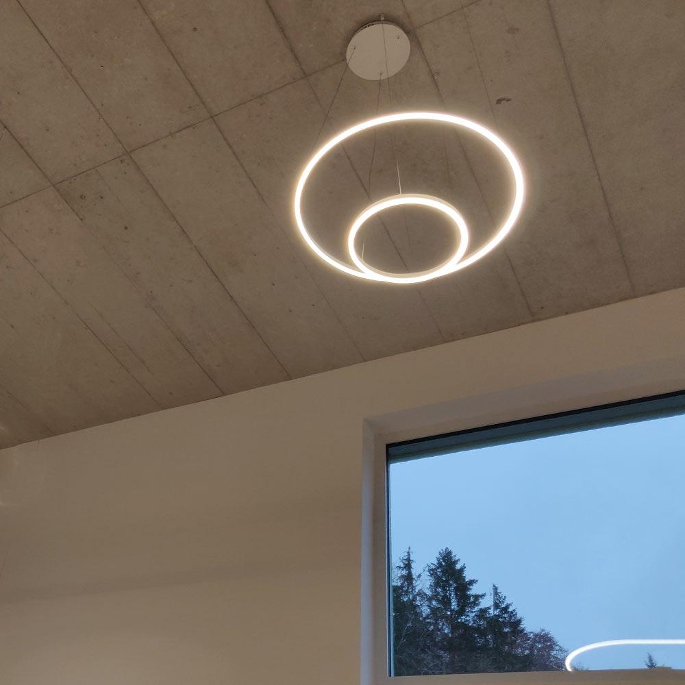 s.LUCE pro LED-Hängelampe Ring 3.0 Ø 40cm direkt o. indirekt 1