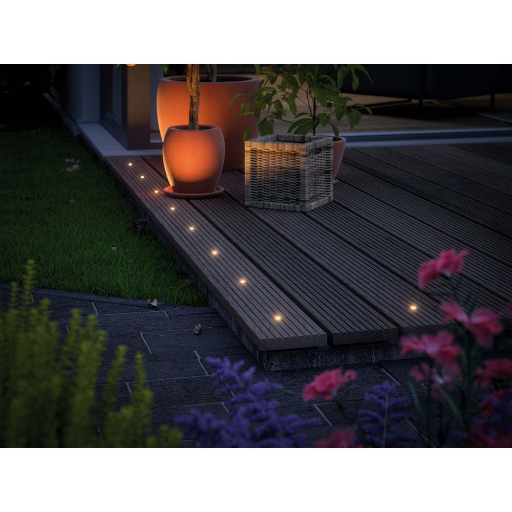 LED Plug & Shine Einbaustrahler-Set MicroPen II + IP67 3000K 2