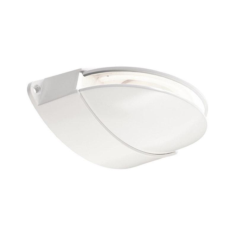Orio LED-Effekt-Wandleuchte 70lm IP64 Weiß 1