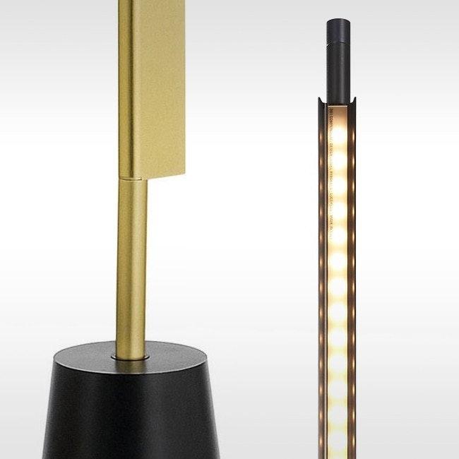 Luceplan Compendium LED Stehlampe (ohne Base) 3000K Schwarz 1