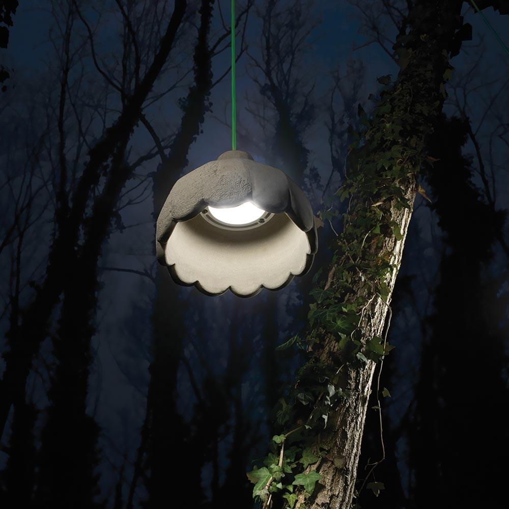 Karman Settenani Pisolo LED-Außen-Hängeleuchte IP65 1