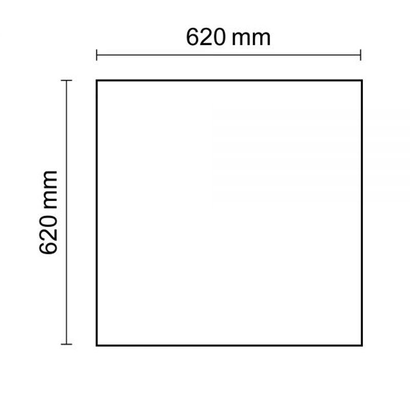 LED Panel Business Line 625 Warmweiß 4250lm Weiß 3