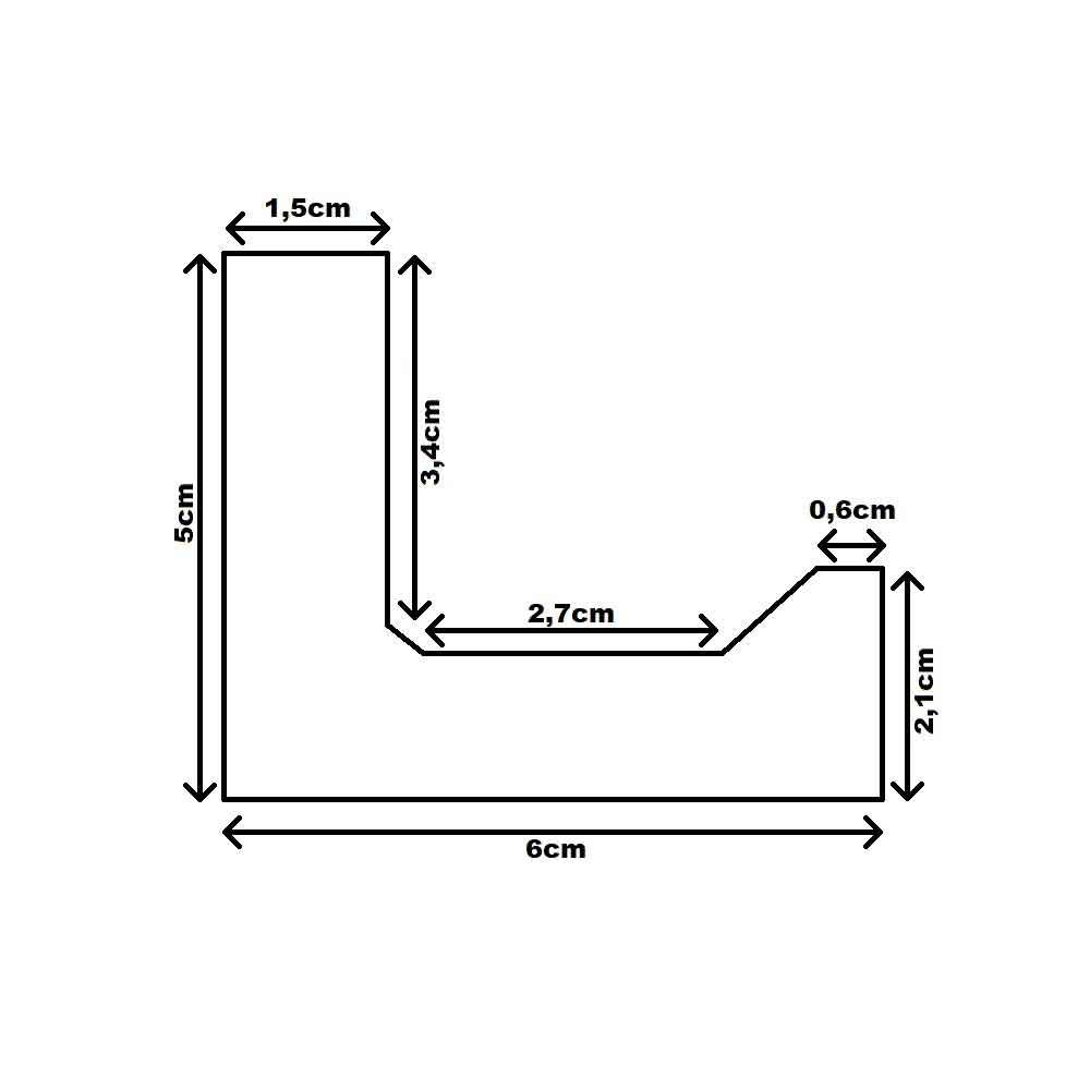 Dekor-Profil 6cm Stuckleiste 1,2 m indirekt Wand oder Decke 8