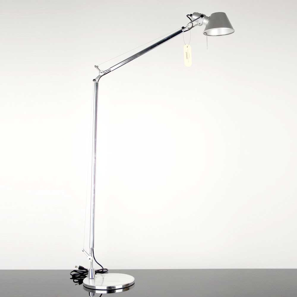 Artemide Tolomeo Lettura Stehlampe mit LED-Leuchtmittel dimmbar