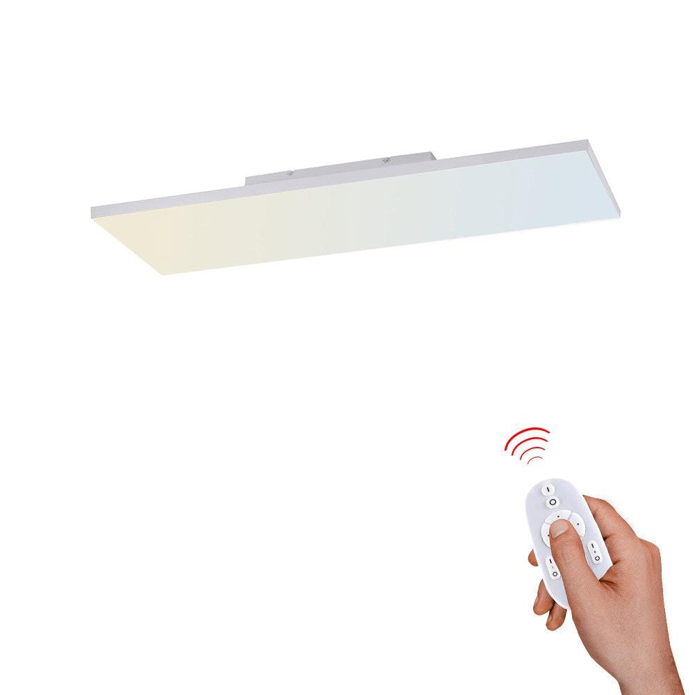 Q-Flat 2.0 rahmenloses LED Deckenpanel 60 x 30cm CCT + FB Weiß 1
