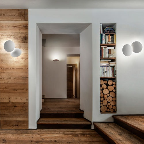Studio Italia Design Puzzle Round Double LED Wand- & Deckenlampe thumbnail 6