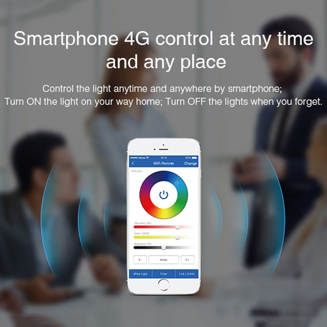 s.LUCE iLight LED WiFi-Box Alexa Kompatibel per Smartphone & Tablet 2