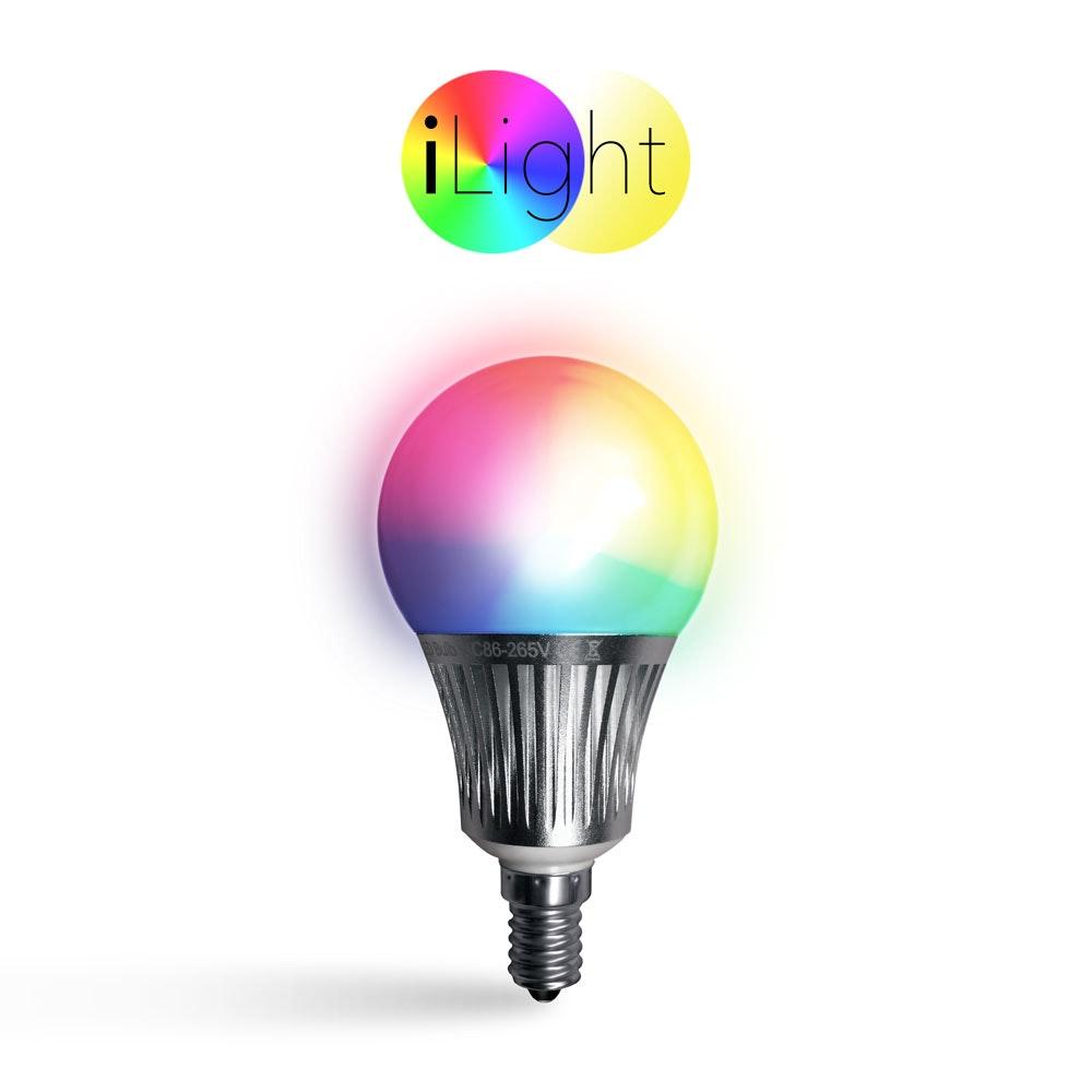 s.LUCE iLight E14 LED Glühbirne 5W RGB + CCT