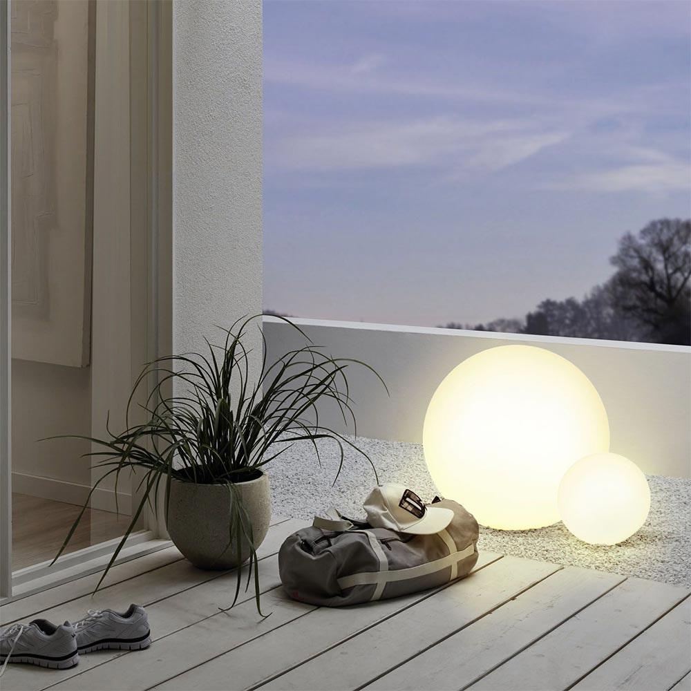 Connect LED Aussen-Bodenlampe Ø 30cm IP65 RGB + CCT 2