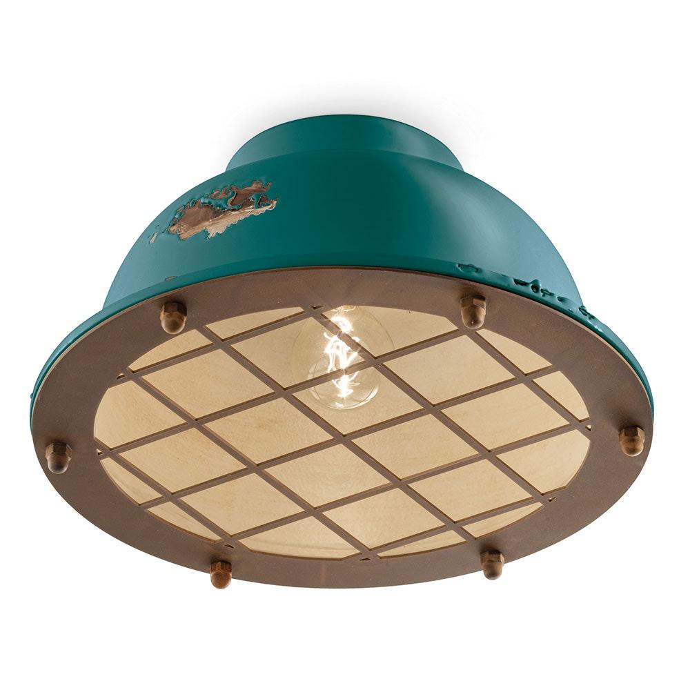 Ferroluce Industrial Deckenlampe 6