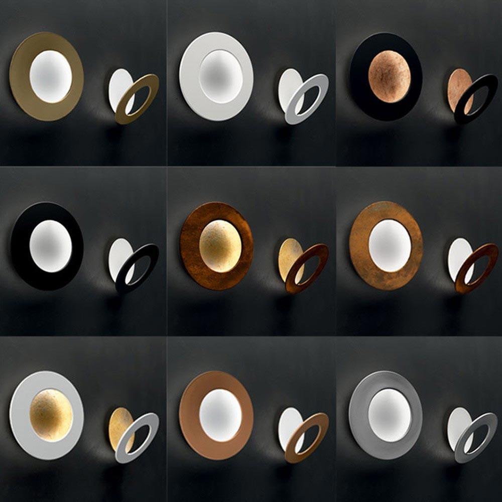 Icone LED Deckenleuchte Vera Ø 50cm Weiß, Kupfer bronziert 2