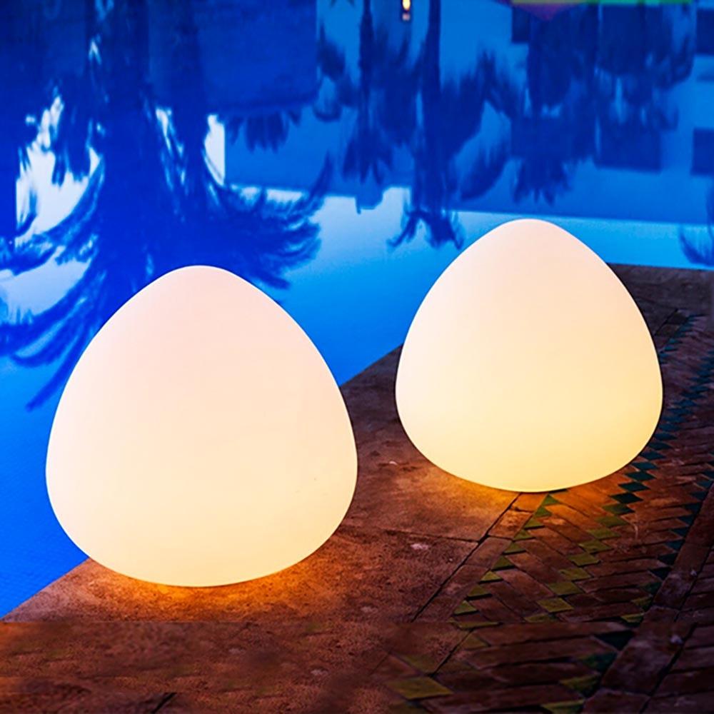 Bruchfeste LED-Akkulampe Stone mit App-Steuerung thumbnail 4
