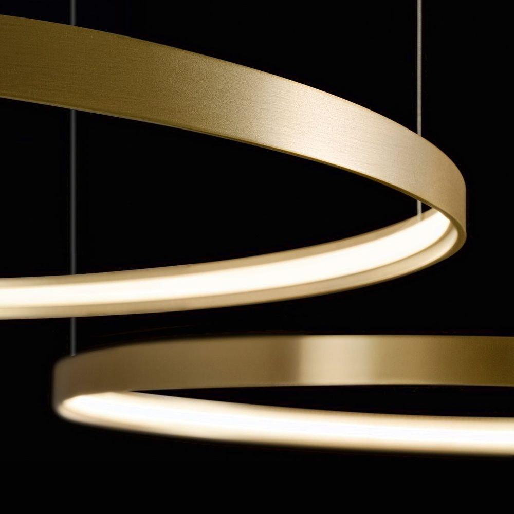 Panzeri Zero Round LED-Ring Pendelleuchte thumbnail 3