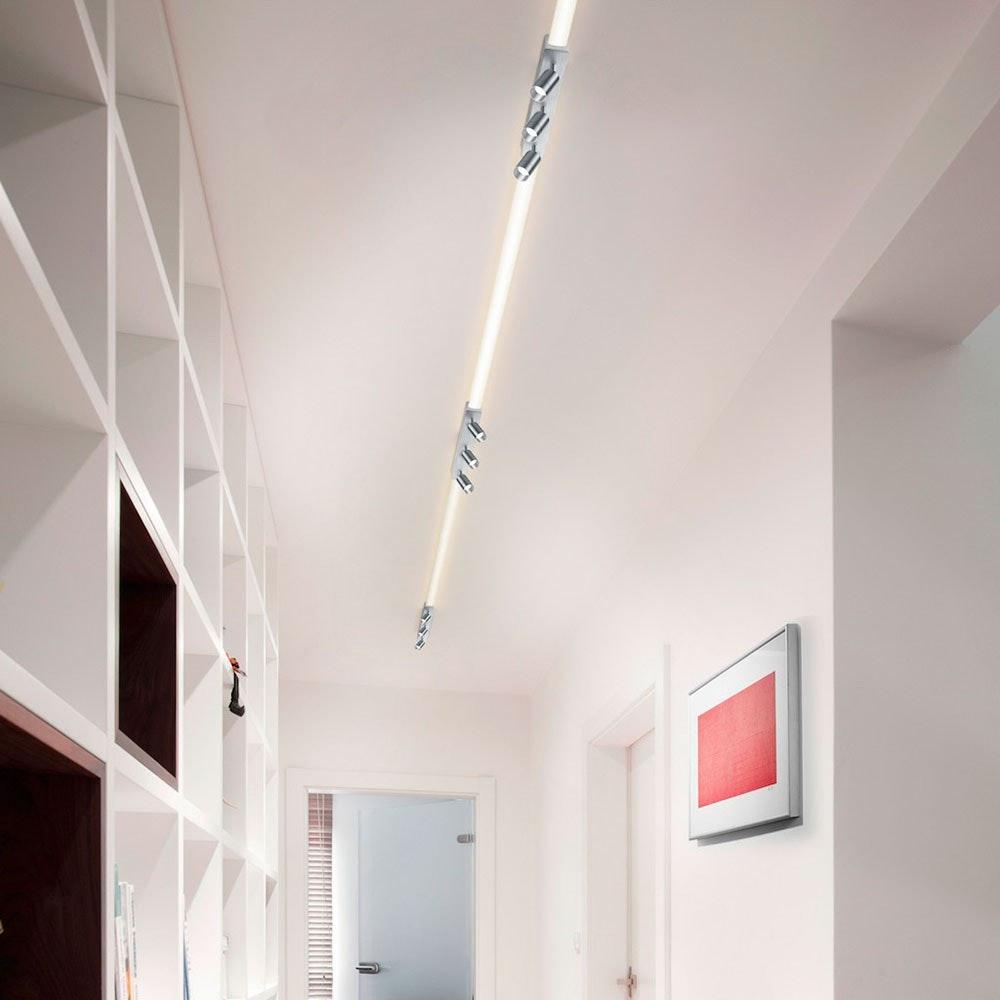 Helestra LED Strahler-Deckengehäuse Mitteleinspeisung Vigo Weiß 4