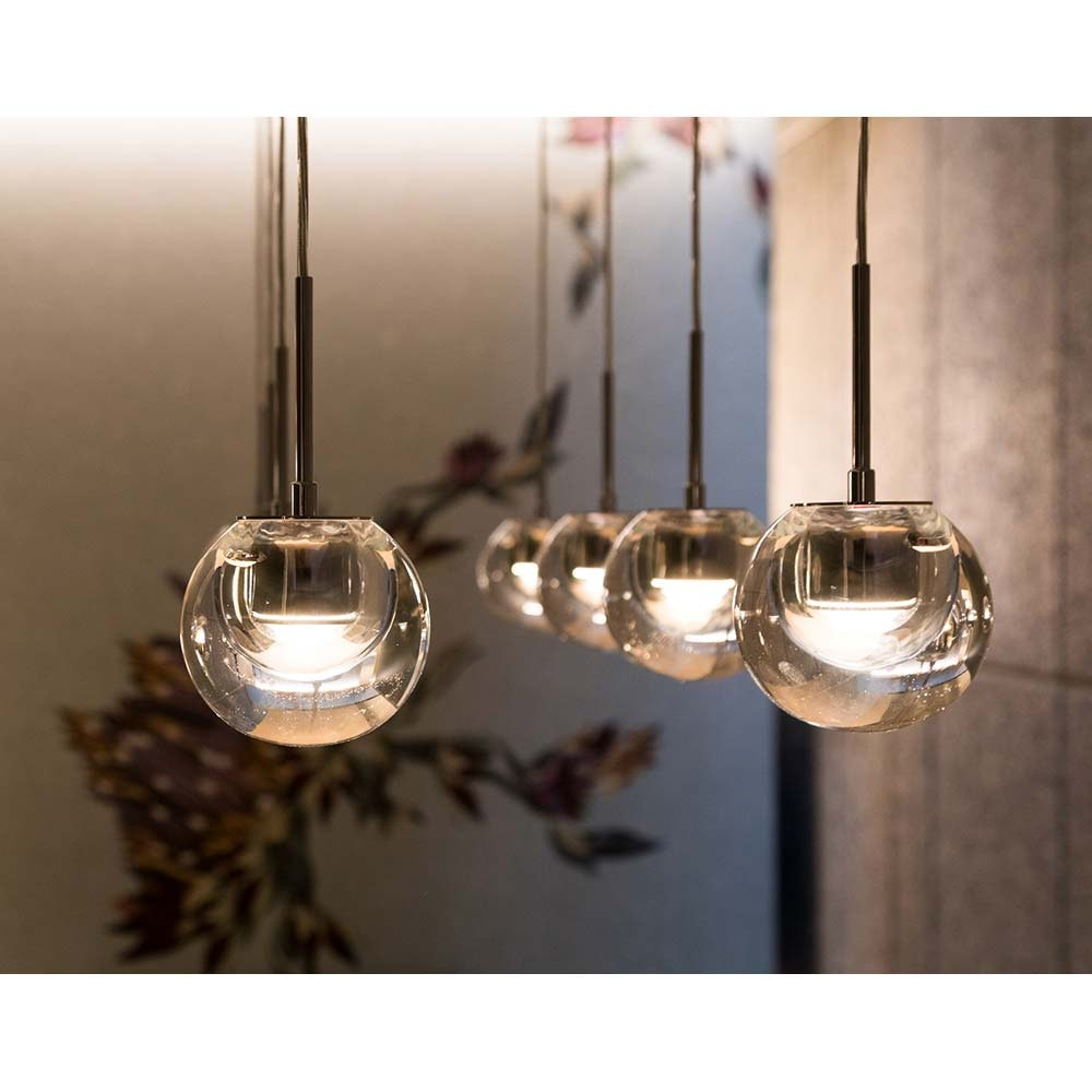 Kundalini LED Einbau-Pendeleuchte Dew Ø 11cm Dimmbar 10