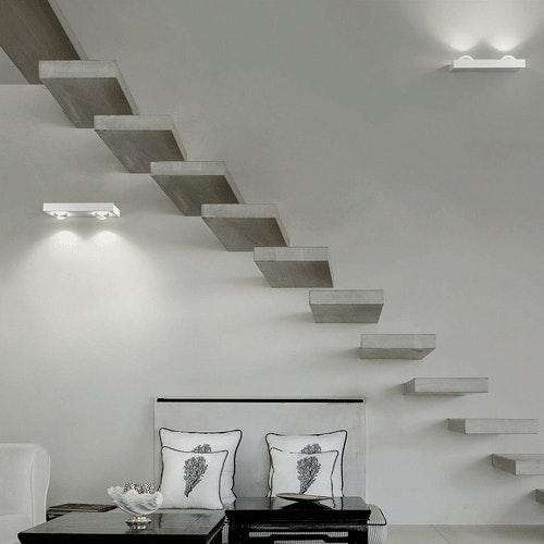Studio Italia Design Shelf Double LED Wandleuchte thumbnail 3