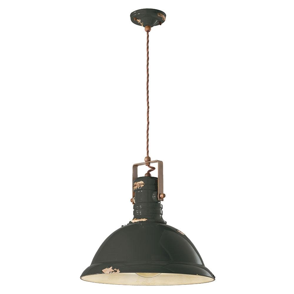 Ferroluce Industrial Hängelampe 40cm 6