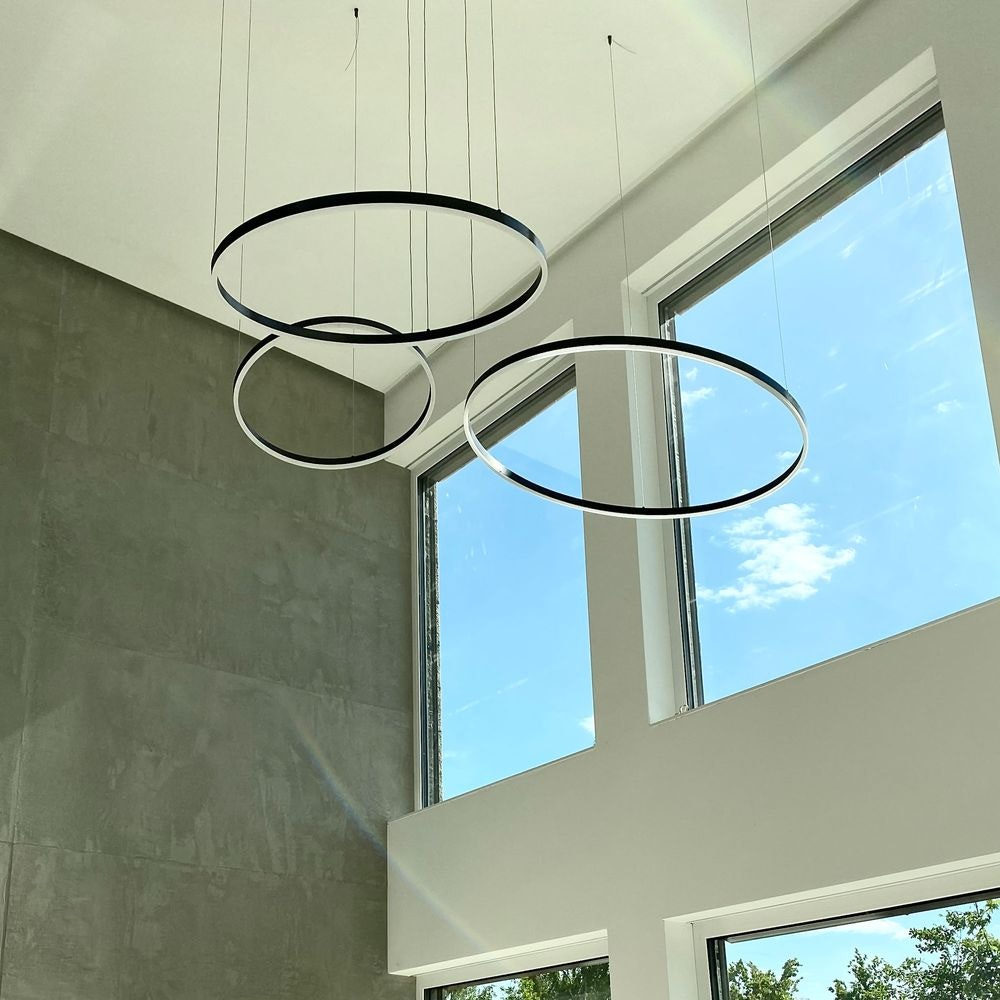 s.LUCE Ring 100 LED Hängelampe 5m Abhängung thumbnail 6