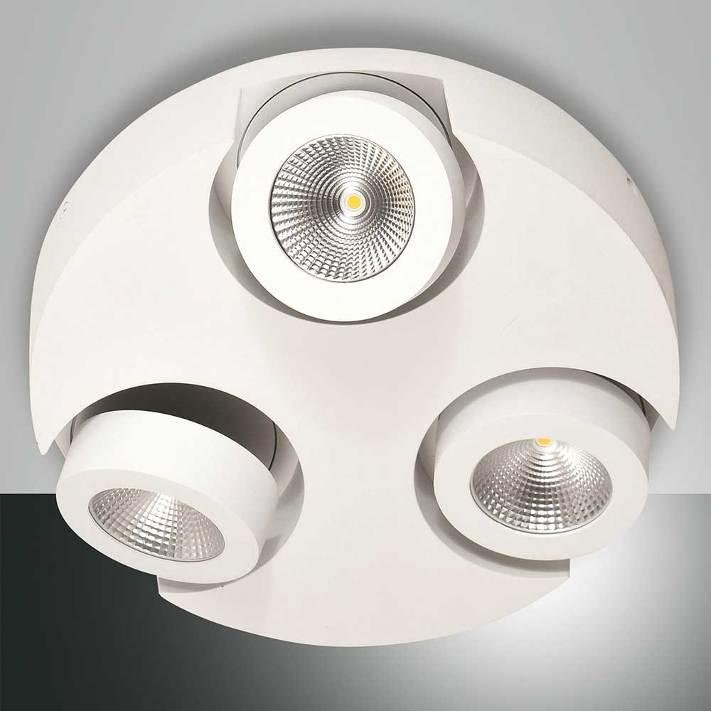 Fabas Luce LED Deckenleuchte Hella Ø 30cm 2