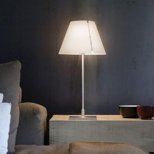 Luceplan Costanzina D13 LED Tischlampe Weiß 1