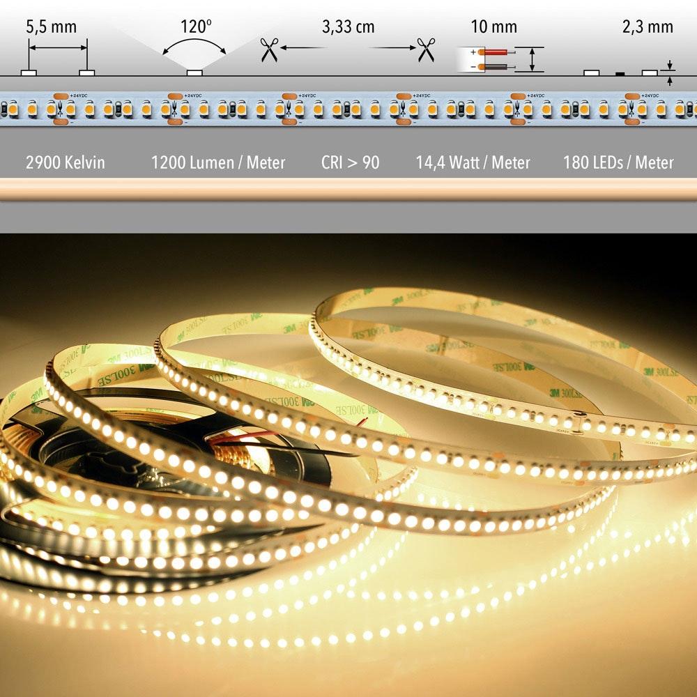 5m LED Lichtband 24V auf Wunsch  4