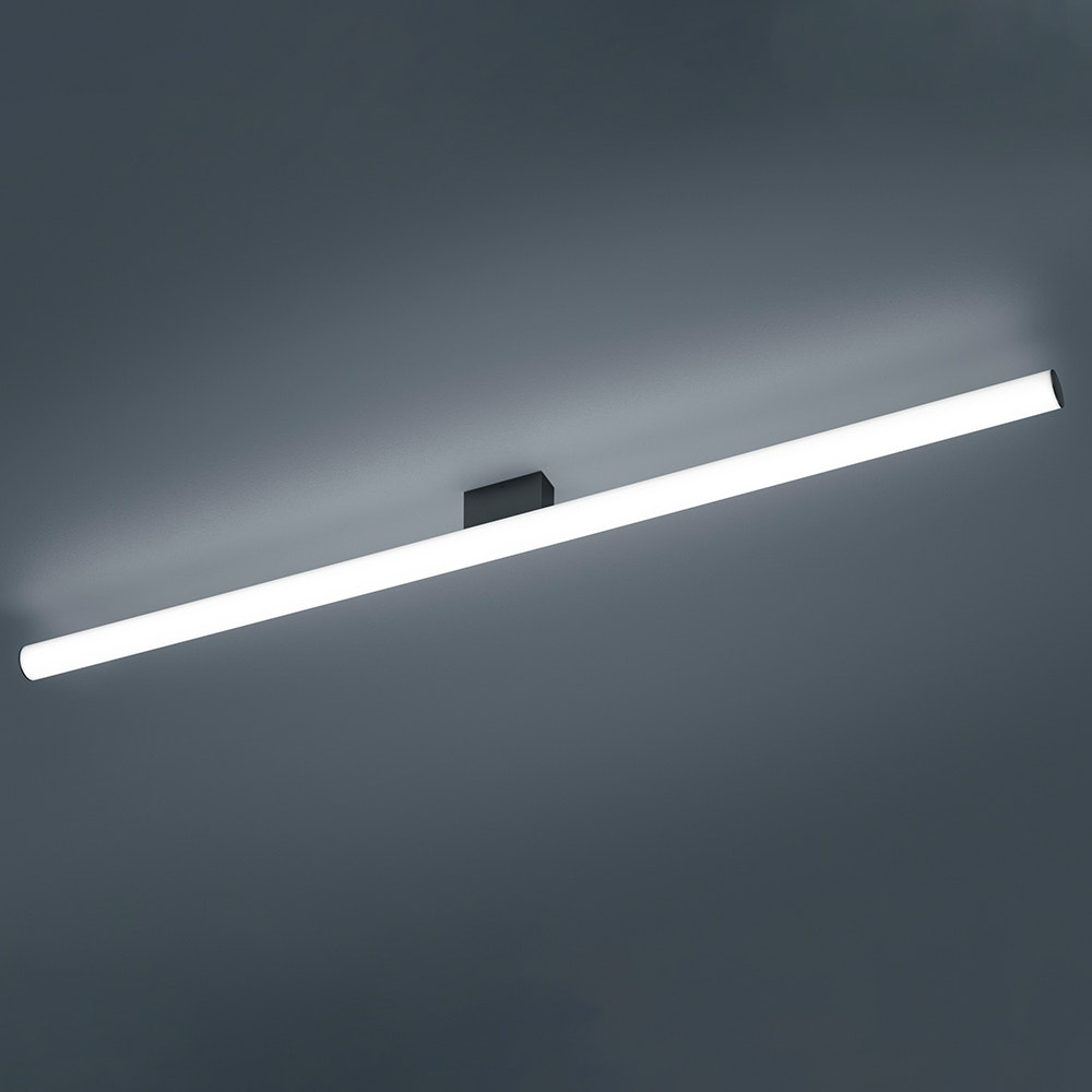 Helestra LED Wandleuchte Loom IP44 Schwarz 1