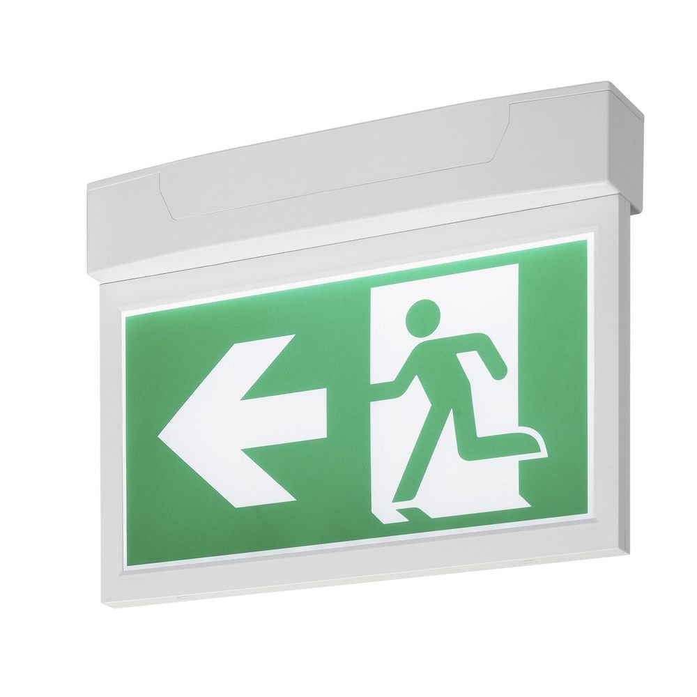 SLV P-Light Emergency Exit Sign Big Ceiling wall Weiß 2