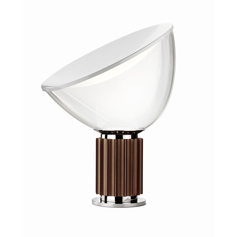 FLOS Taccia Small LED Tischleuchte mit Reflektor 37cm 4