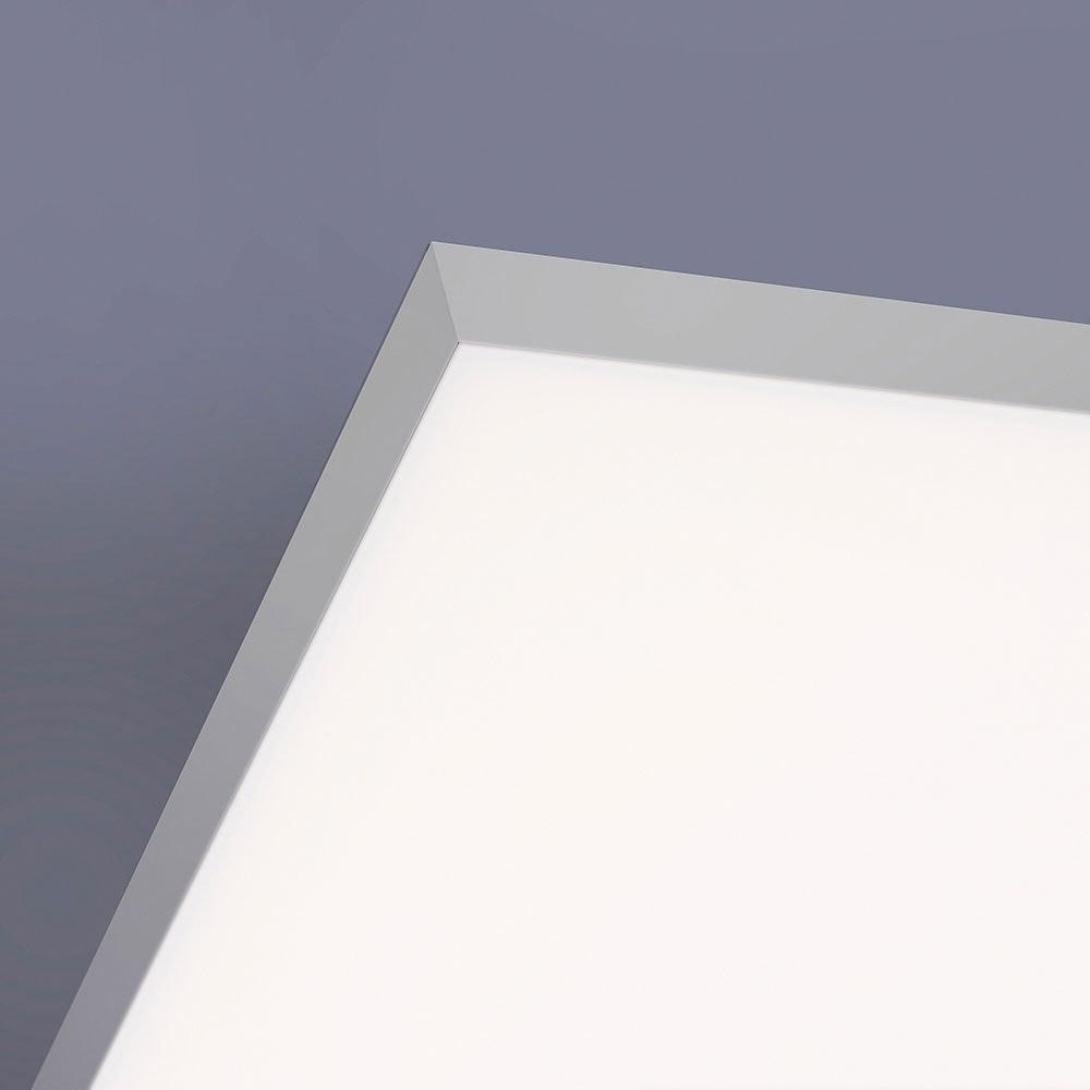 Q-Flat 2.0 rahmenlose LED Deckenlampe 60 x 30cm RGBW + FB Weiß 8