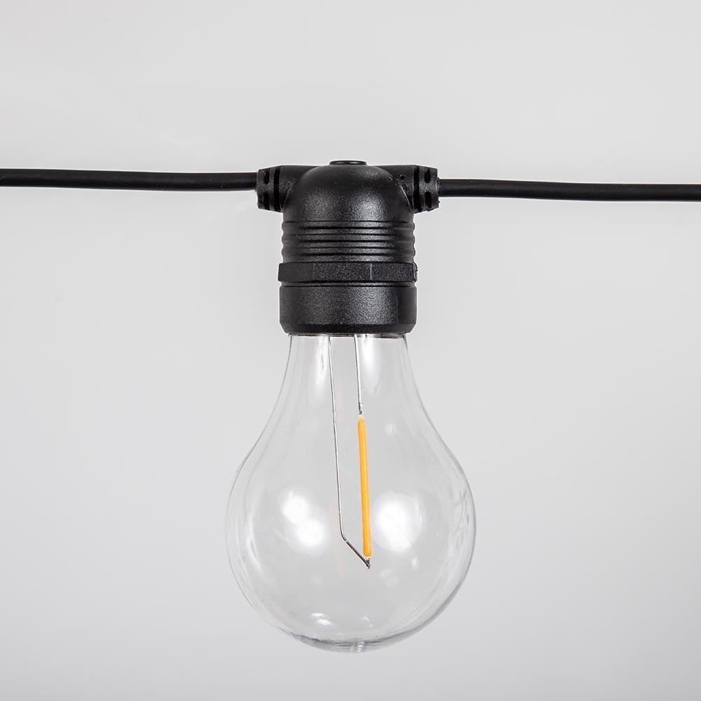Licht-Trend Girlande Allegra 10-flammig E27 3