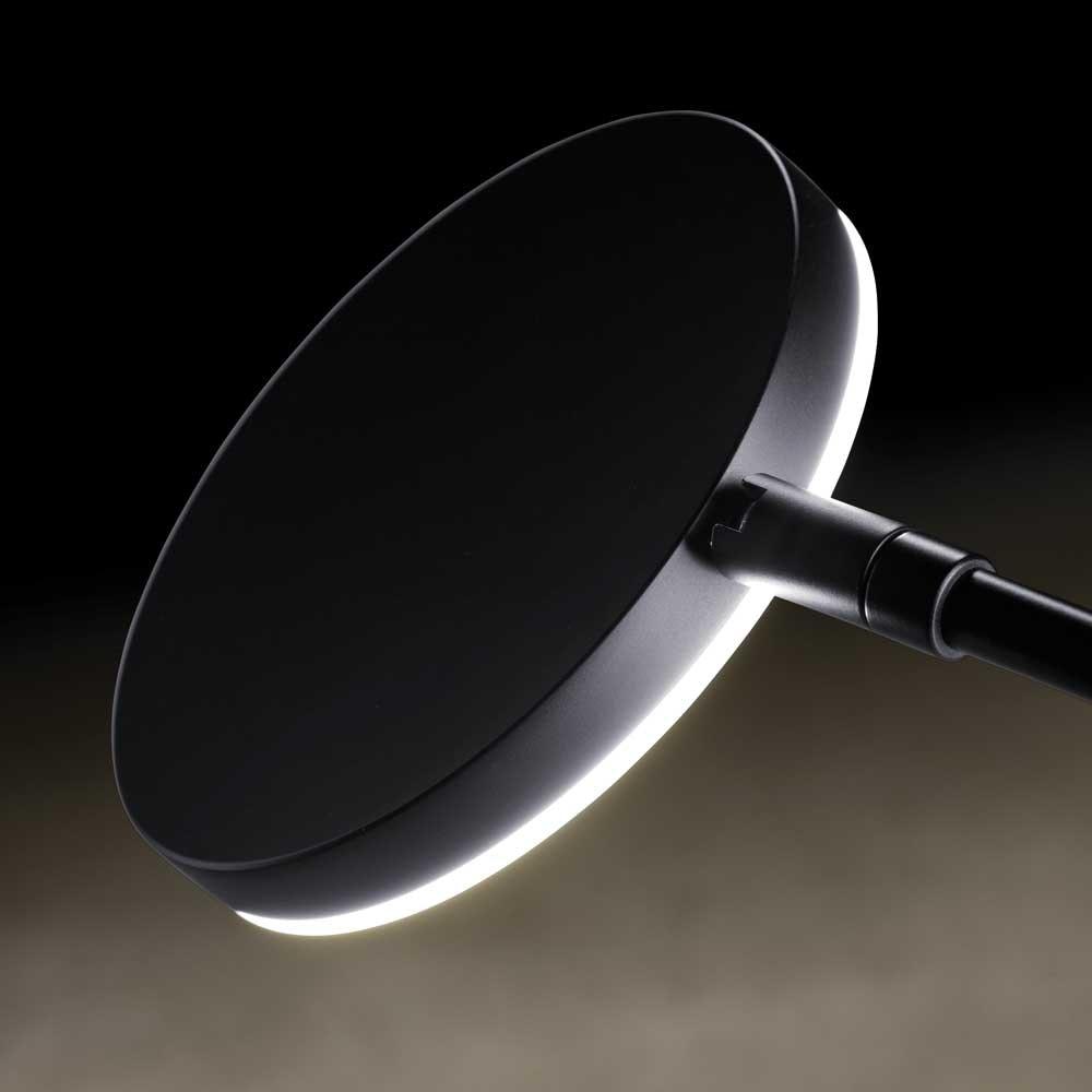 Holtkötter LED-Stehlampe Plano B mit Tastdimmer Schwarz thumbnail 4