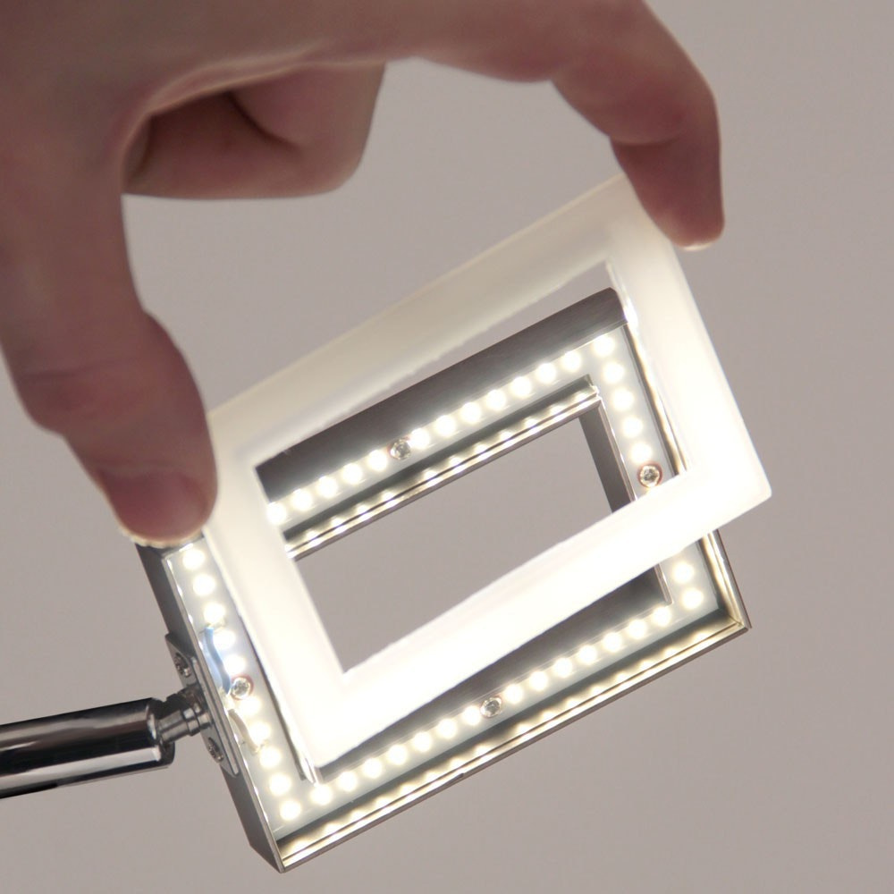 Inigo LED Deckenleuchte Stahl 8