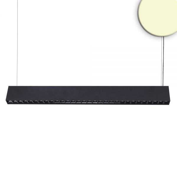 LED Hängeleuchte Up+Down Raster 2900lm schwarz UGR