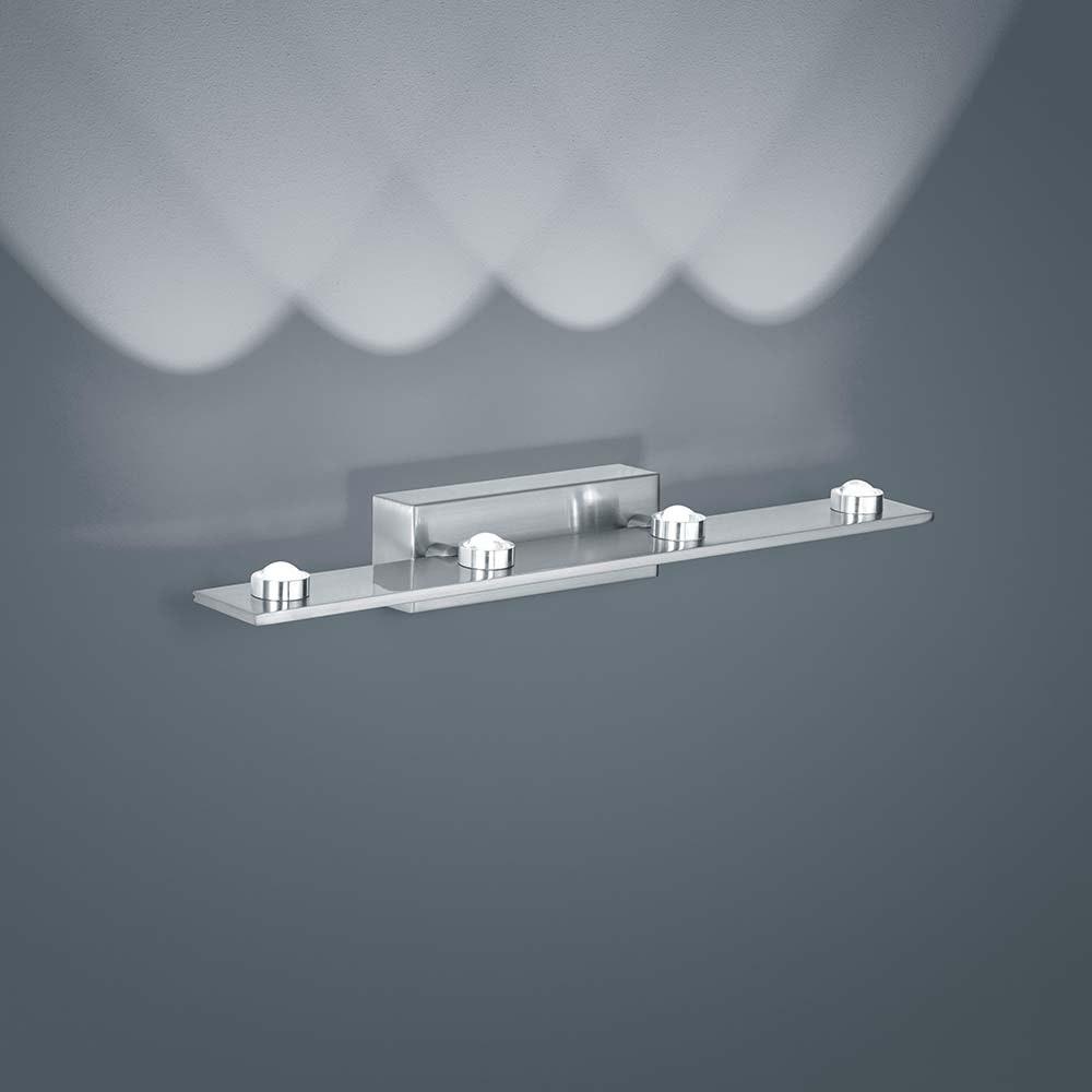 Helestra LED Wandlampe Dori Nickel-Matt 3
