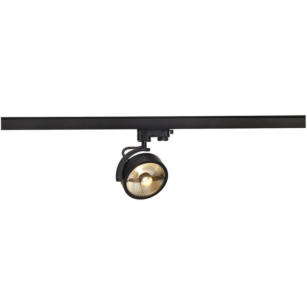 SLV Kalu TRACK QPAR111 Leuchtenkopf Schwarz inkl. 3P.-Adapter 1