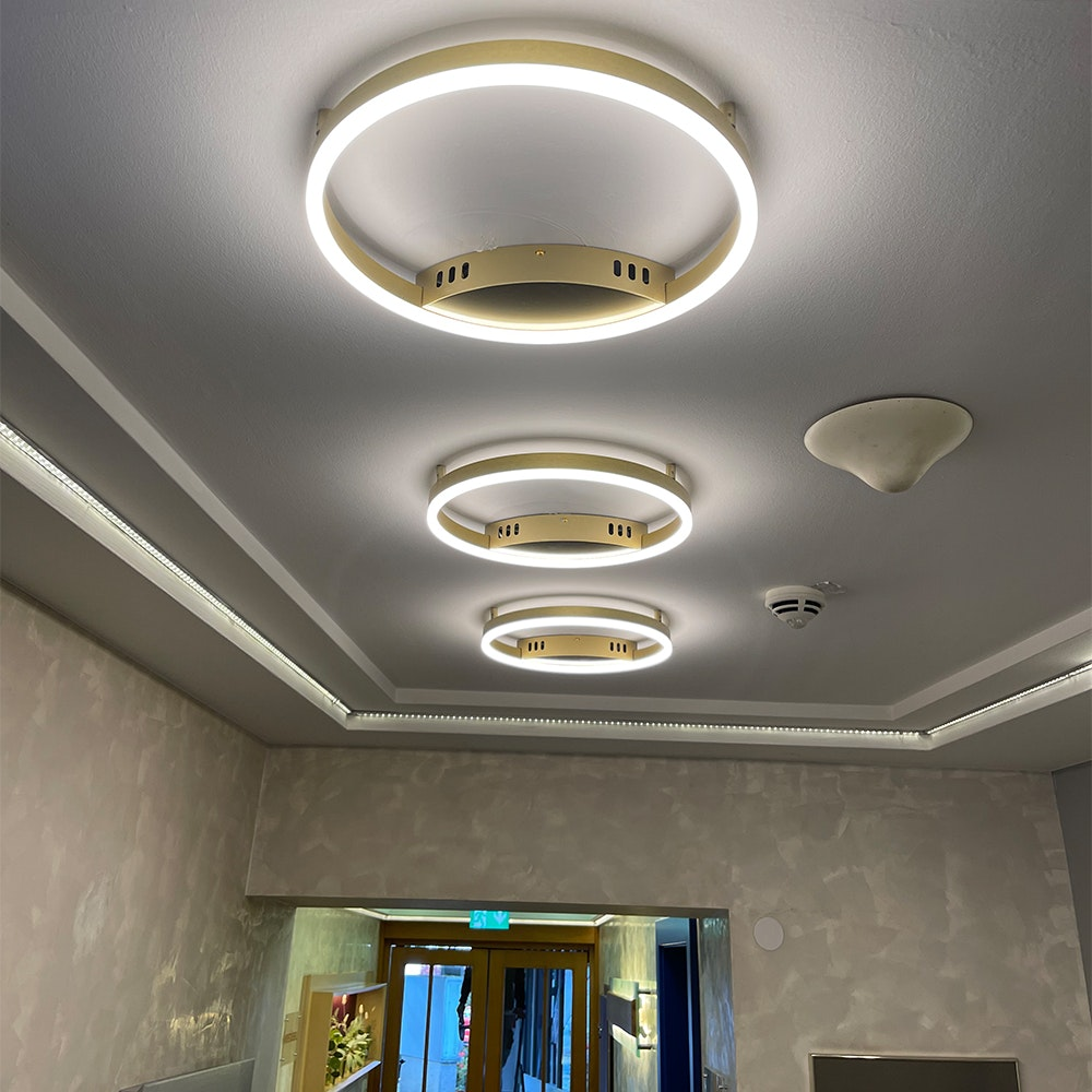 s.LUCE Ring 80 Wand & Deckenlampe LED Dimmbar 11