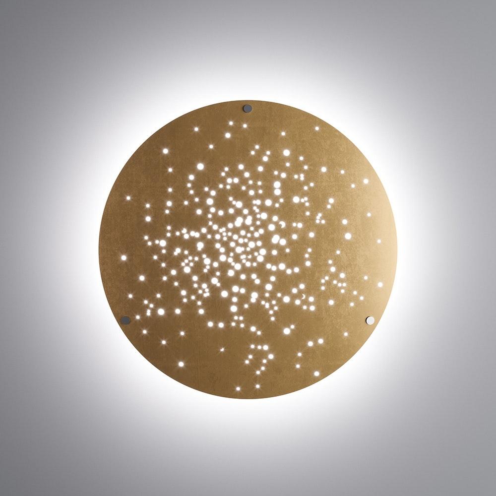 Fabbian Lens LED-Wandleuchte Ø 90cm 4