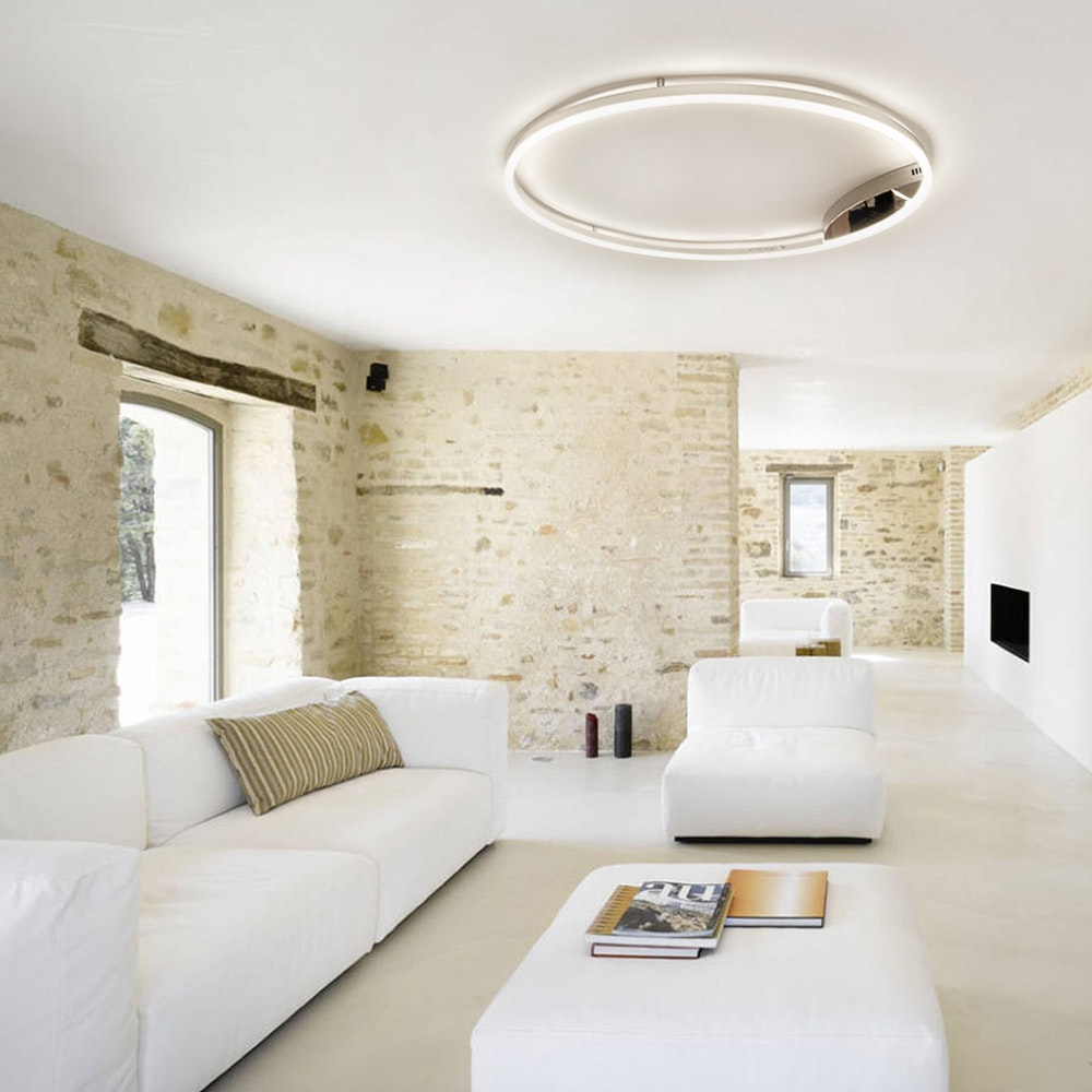 s.LUCE Ring 80 Wand & Deckenlampe LED Dimmbar