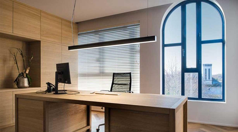 Büro Hängeleuchte Schreibtisch