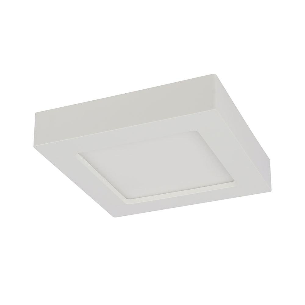 LED Deckenleuchte Svenja Weiß, Opal 3