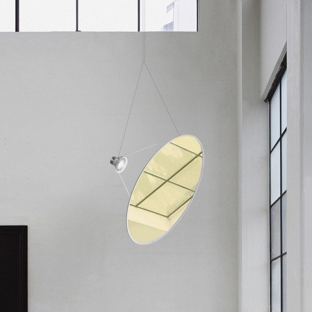 Luceplan Amisol LED Hängelampe (Körper) 53W 3000K Dimmbar Hellgrau thumbnail 3