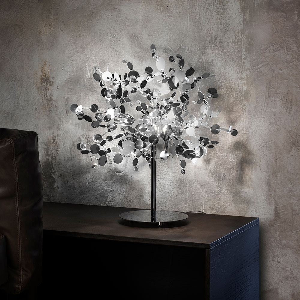 Terzani Argent Design-Tischlampe