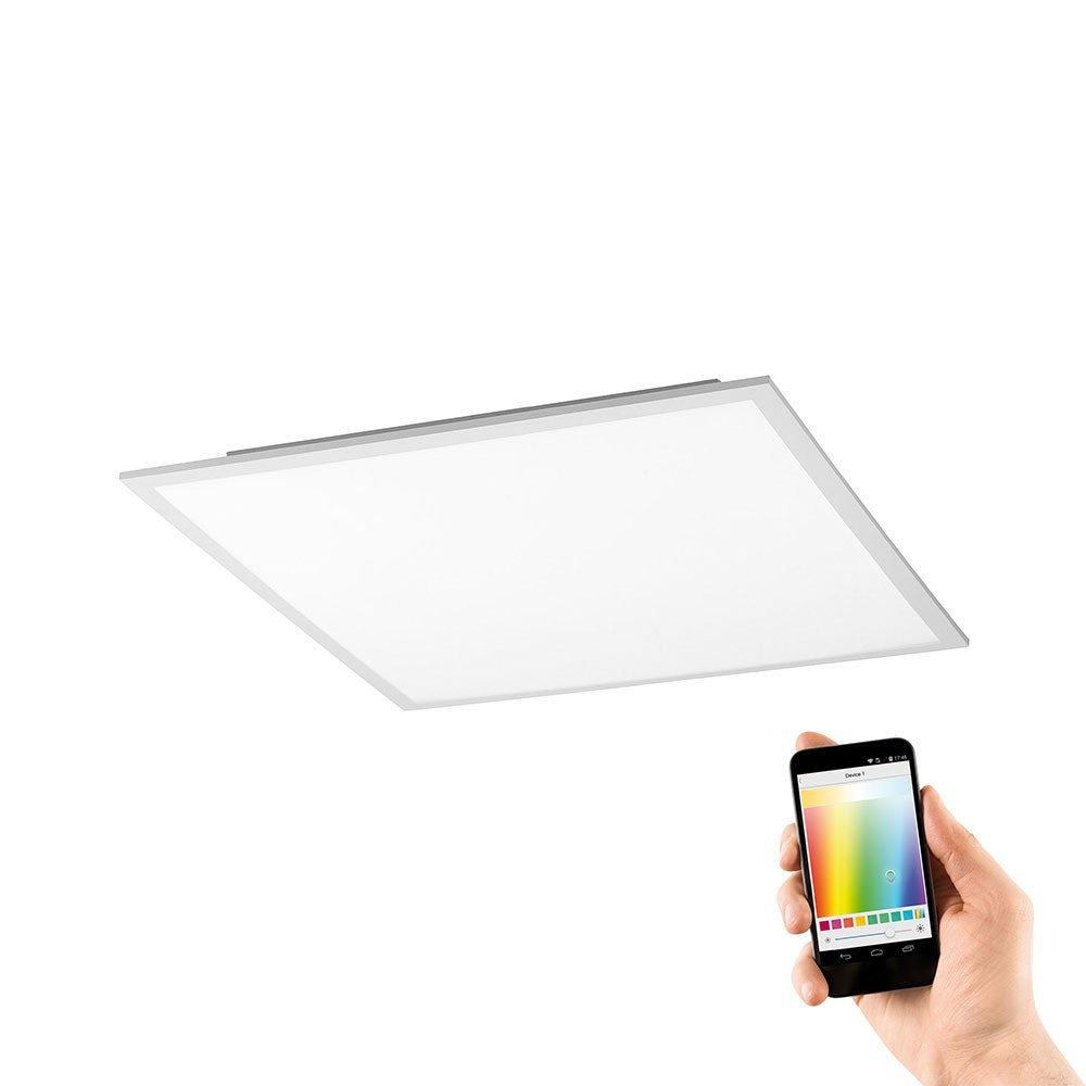 LED Deckenleuchte Q-Flag 25W RGBW Weiß 1