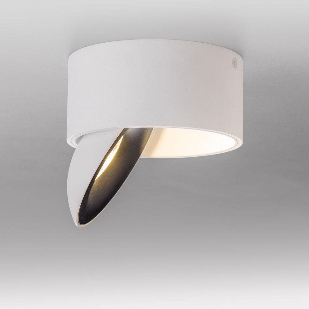 Licht-Trend LED Aufbaulampe Santa 2700K dimmbar 910lm Weiß, Schwarz 1