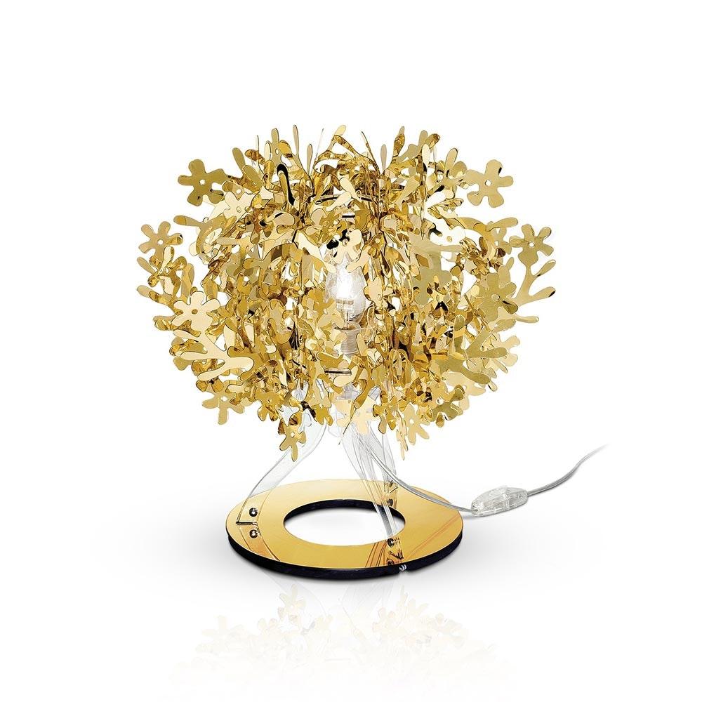 Slamp Tischlampe Fiorella 370lm 2800K Goldfarben 3