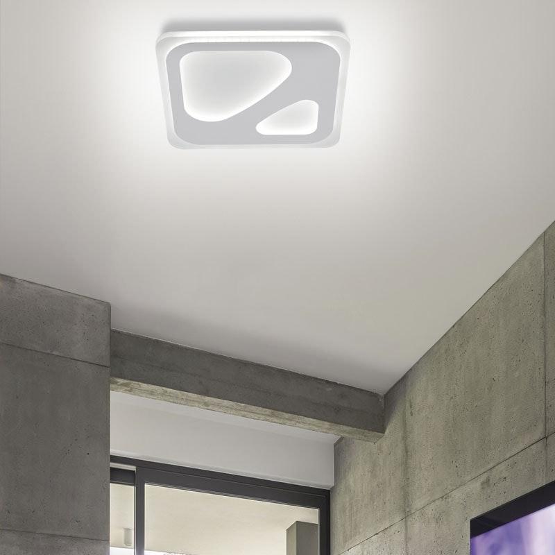 Intelligente LED Deckenlampe Q-Ariana RGB+CCT 8